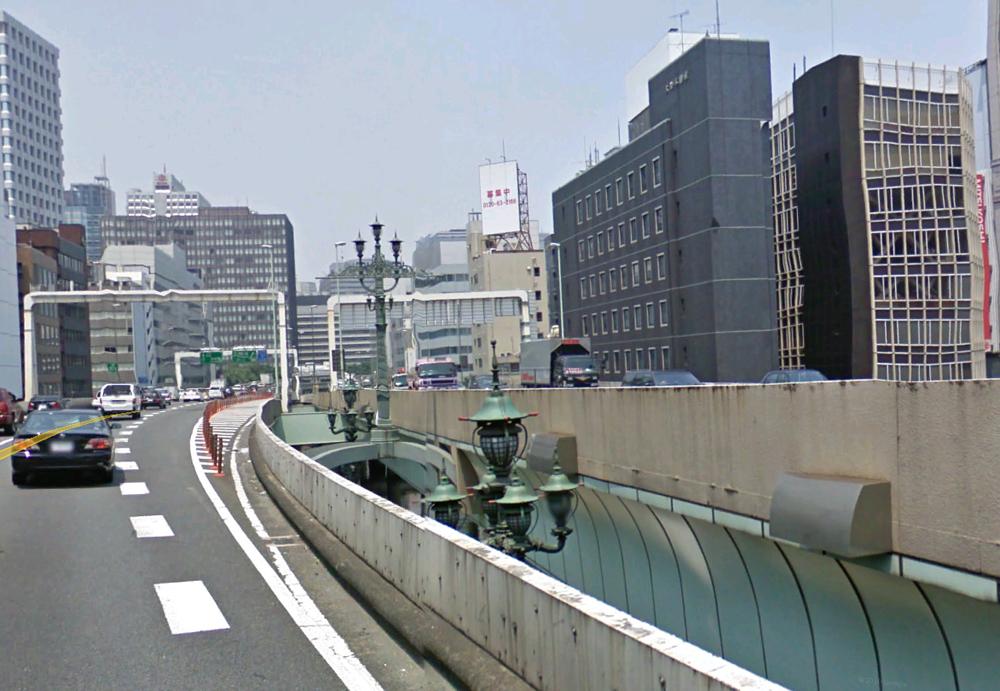 Streetview Nihonbashi bridge