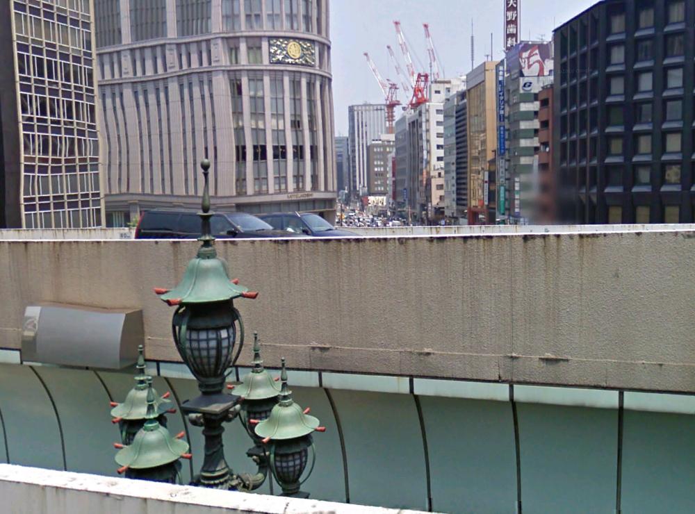 Streetview Nihonbashi bridge2